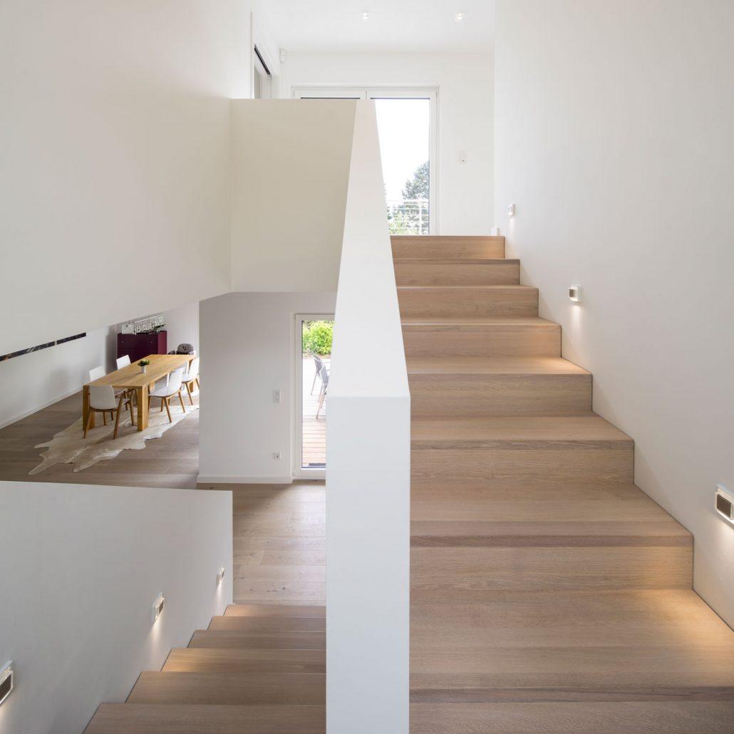 setzstufen treppe